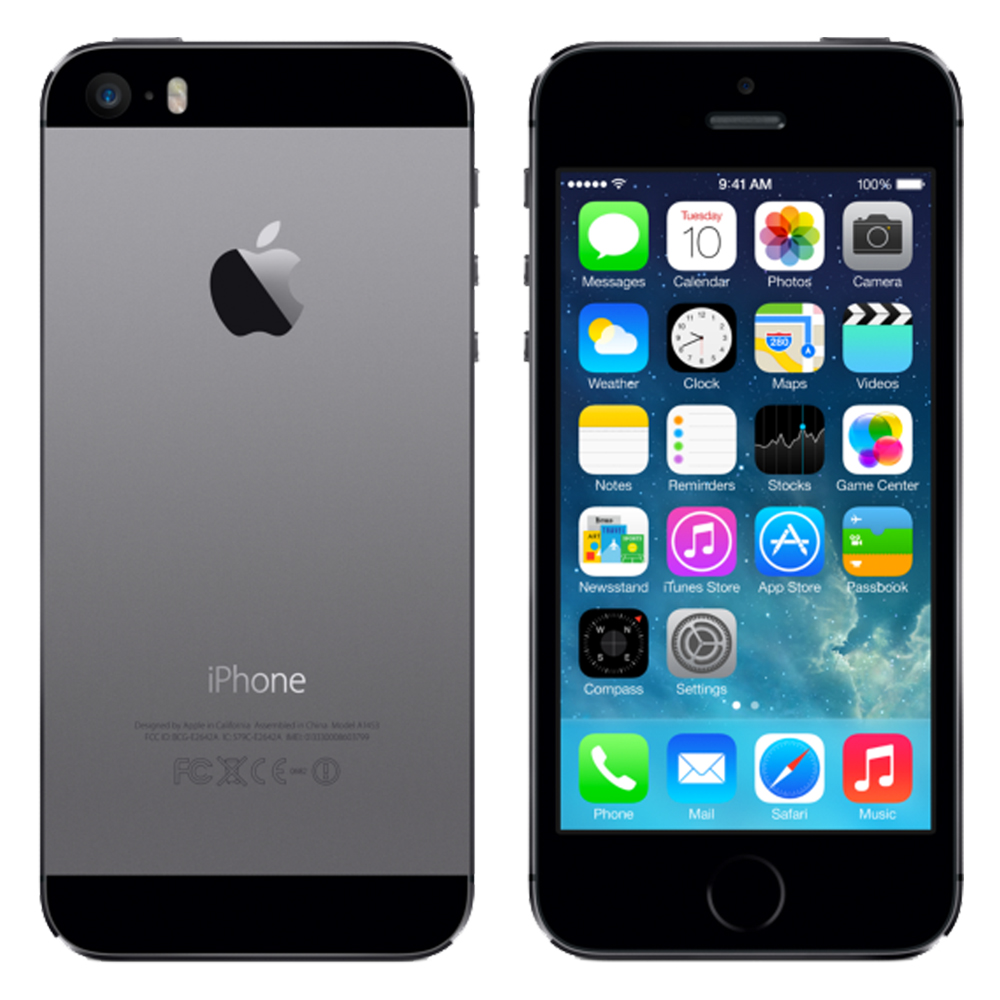 Apple iPhone 5s (16GB) Space Grey Rental