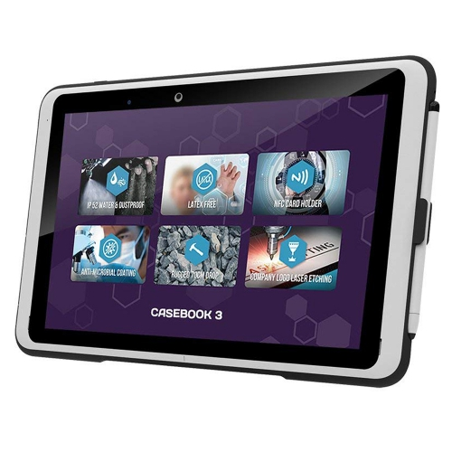 10.1 inch rugged 2-in-1 tablet with detachable keyboard